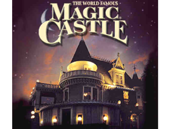 Guest Pass for Four to the Magic Castle
