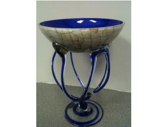 Macocha Cobalt Blue Glass Dish