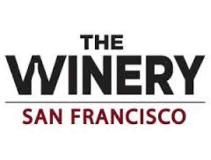 The Winery San Francisco - Wine Tasting & Bottle Bucks for 12