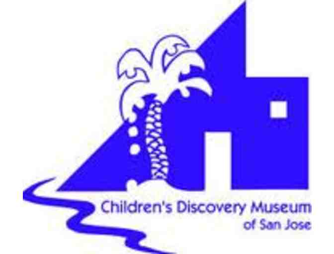Children's Discovery Museum of San Jose - Family 4 Pack of Tickets