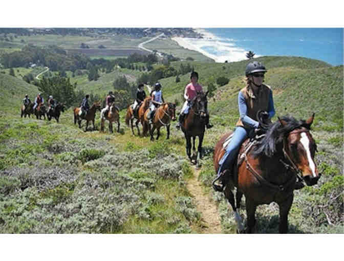 One-hour trail ride for 2 at Moss Beach Ranch
