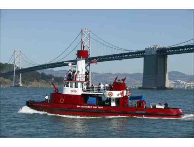 San Francisco Fire Department Fireboat Ride For 10