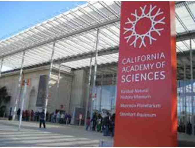 California Academy of Sciences - Two Guest Passes