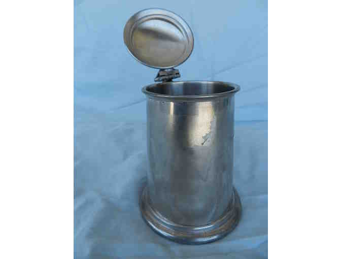 Pewter Lidded Stein