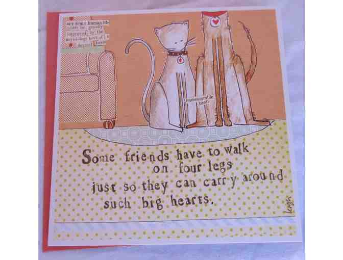 Four Pet Themed Cards from Curly Girl