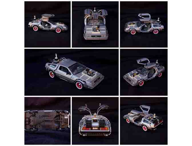 Delorean Time Machine Back to the Future Part III Diecast Car, Welly