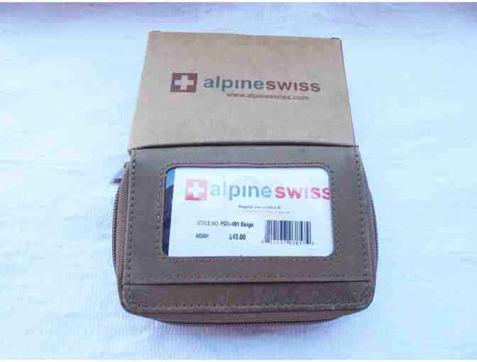 Alpine Swiss Compact Wallet