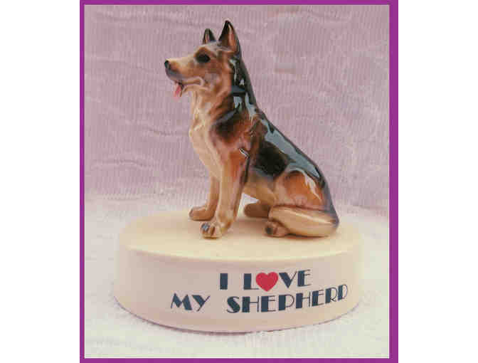 I Love my Shepherd Figurine