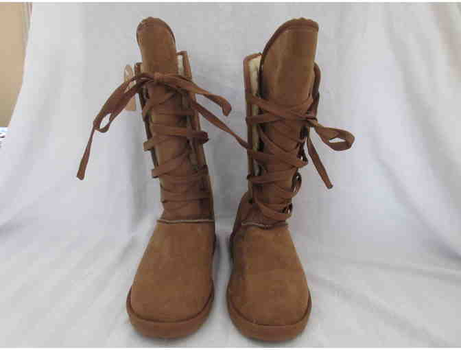 Amelia Boots with Fleece Lining - Size 7