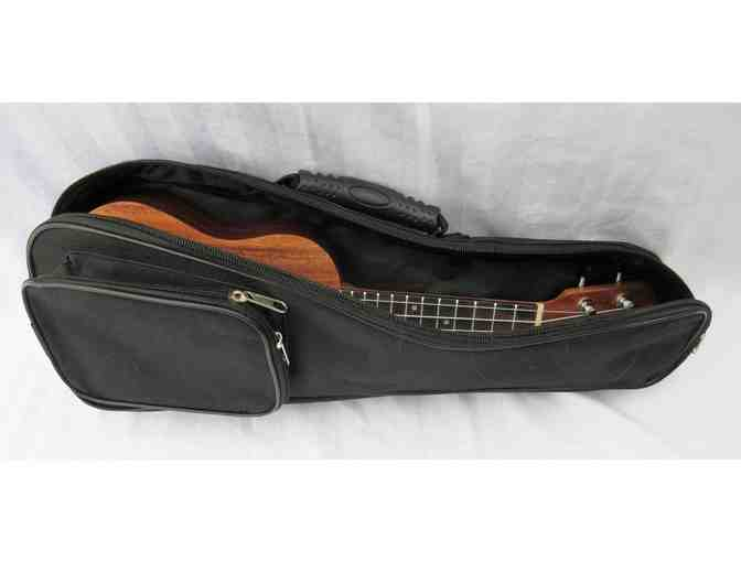 Sopranissimo Caramel Ukulele with Soft  Case