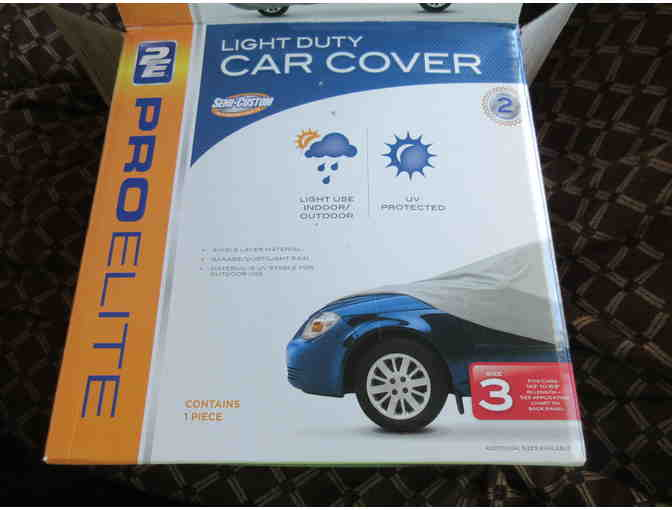 Car Cover - Light Duty by Pro Elite  Size 3 - Photo 2