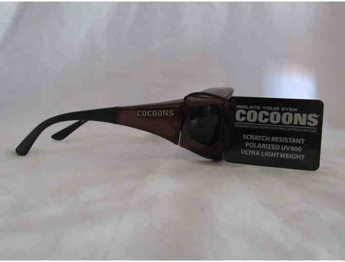 Cocoons Sunwear - Designed To Wear Over Prescription Glasses -  Med  Chocolate/Gray - Photo 4