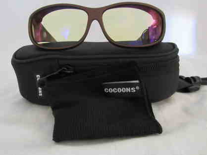 Cocoons Sunwear - Designed To Wear Over Prescription Glasses - Mini Slim Low Vision