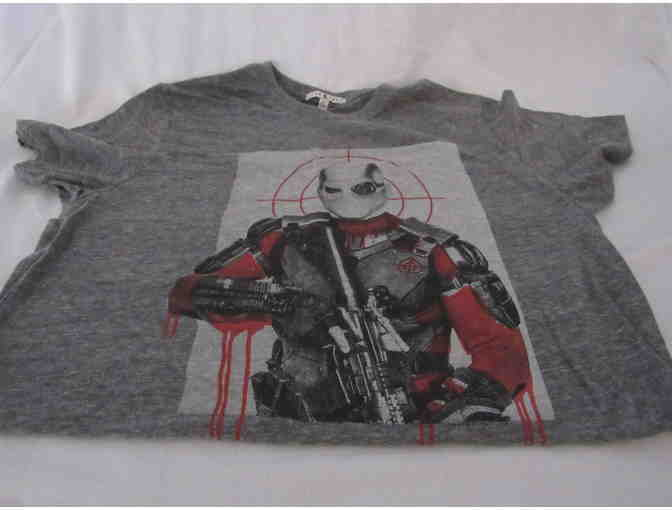 Deadshot Adult Medium Gray T-shirt - Photo 1