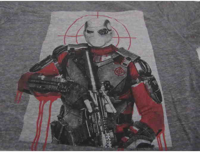 Deadshot Adult Medium Gray T-shirt - Photo 2