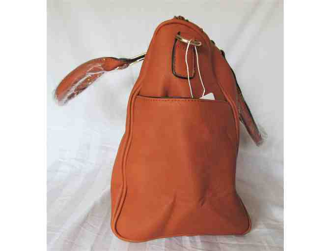 Brown Barrel Bag from the MKF Collection by Mia K. Farrow - Photo 2
