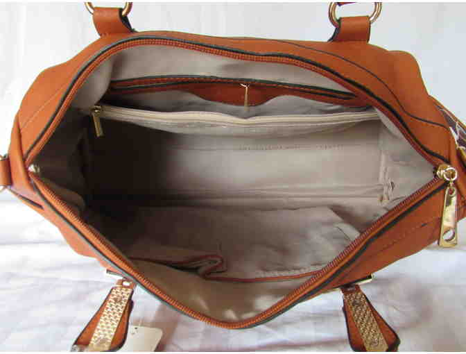Brown Barrel Bag from the MKF Collection by Mia K. Farrow - Photo 5