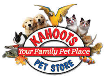 $25 Gift Card to Kahoots Pet Store