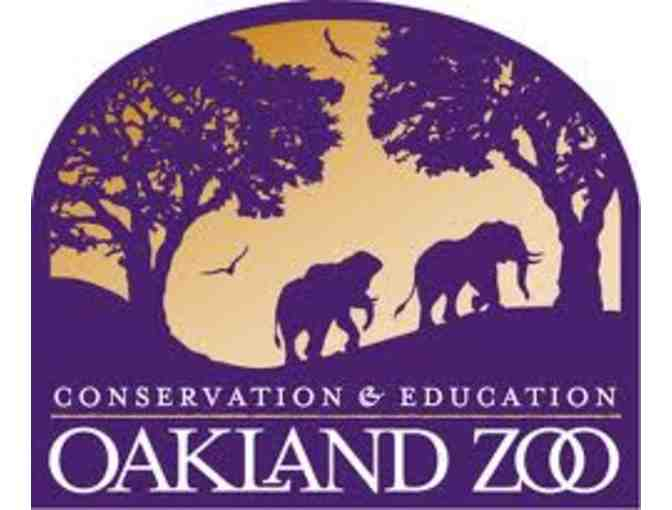 The Oakland Zoo: 2 adult tickets, 2 child tickets, & 1 parking pass