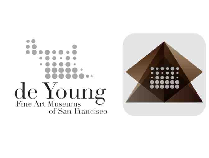 de Young Museum: 2 guest passes (good for 2 people each)