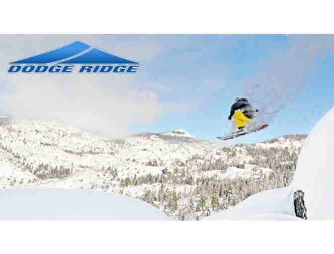 Dodge Ridge Ski Area: Ski lessons, equipment rentals & lift tickets for 2 adults/teens