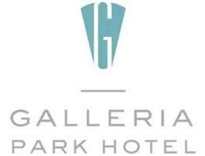 One night at the Galleria Park Hotel in San Francisco