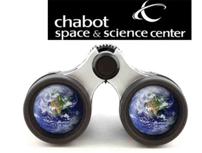 Chabot Space & Science Center: 4 general admission tickets