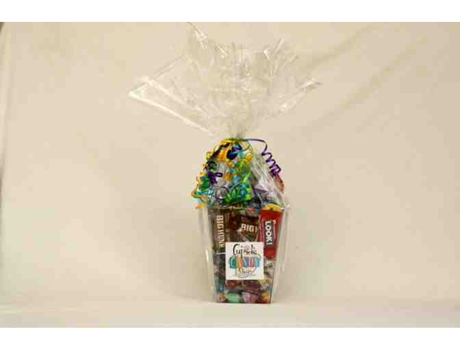 Cupid's Candy Shop: Candy gift basket & $10 gift certificate
