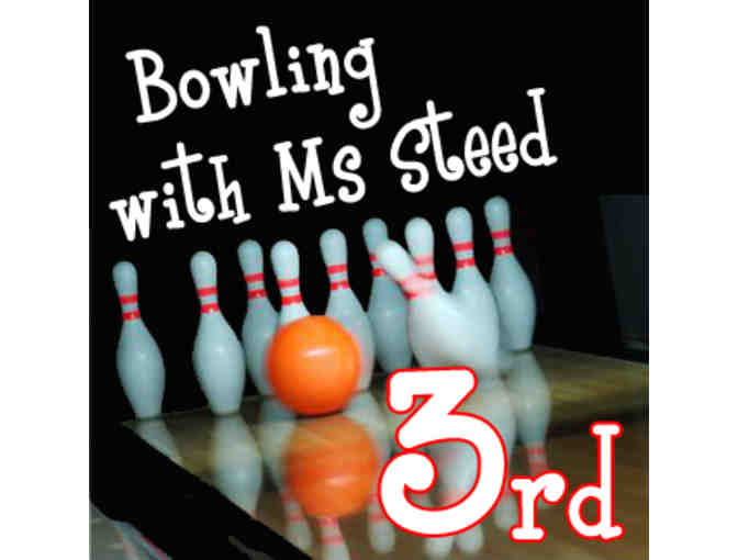 Bowling with Ms. Steed - 3rd grade