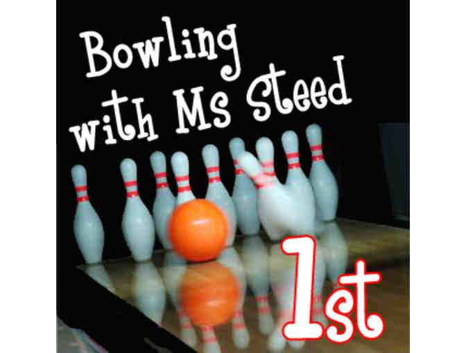 Bowling with Ms. Steed - 1st grade
