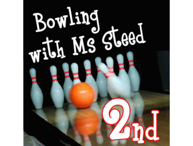 Bowling with Ms. Steed - 2nd grade
