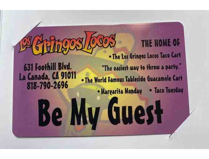 Los Gringos Locos Restaurant Gift Card - Photo 1