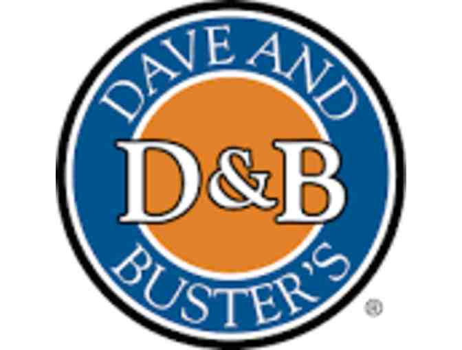 $10 Power Card Gift Certificate Dave & Buster's Honolulu Only - Photo 1