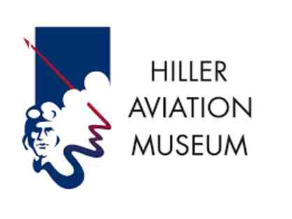 Two VIP Admission Passes to Hiller Aviation Museum - San Carlos, CA