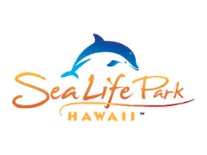Admission for TWO to Sea Life Park Hawaii