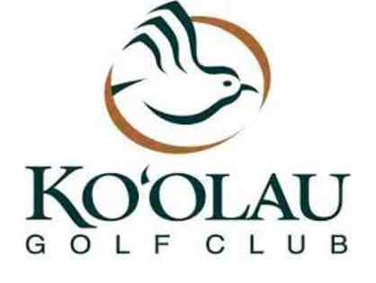 Complimentary Round of Golf for Two at Ko'olau Golf Club