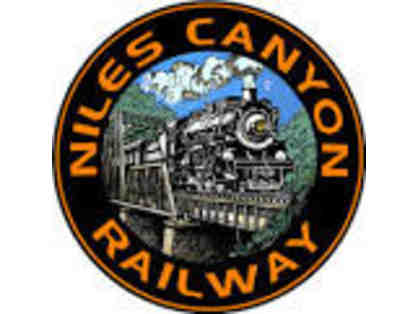 Two Tickets to Niles Canyon Railway Trip Pass - Sunol, CA