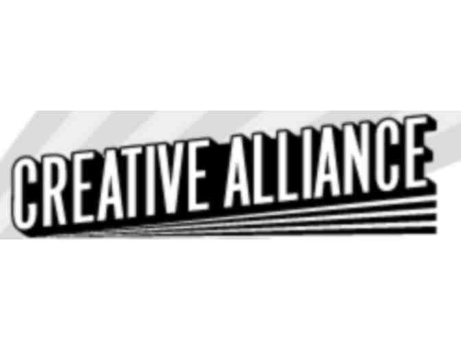 Creative Alliance One-Year Family Membership