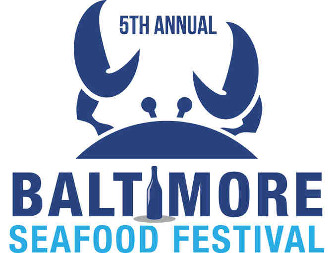 Four VIP tickets to the Baltimore Seafood Festival