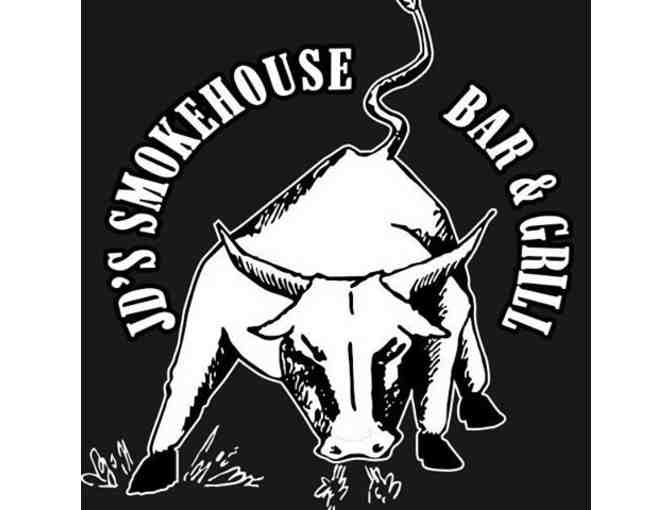 JD's Smokehouse Bar & Grill - $50 Gift Certificate
