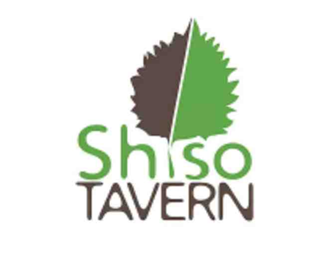 Shiso Tavern Gift Certificates