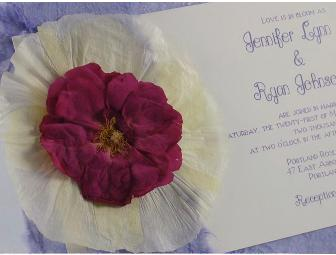 Eco-Friendly Green Invitations