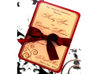 Custom, Couture Wedding Stationery Suite