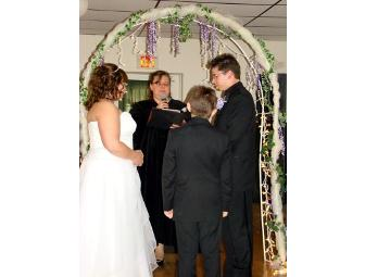 Officiant : Ceremony and Rehearsal Package