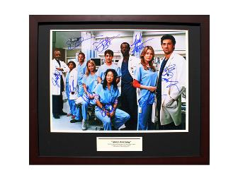 Grey's Anatomy Cast Signed, Framed & Matted 16x20 Photograph