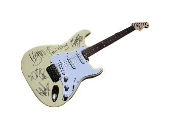 The Rolling Stones Signed Electric Guitar
