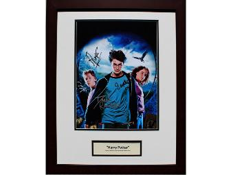 Harry Potter Cast Signed, Framed & Matted 11x14 Photograph