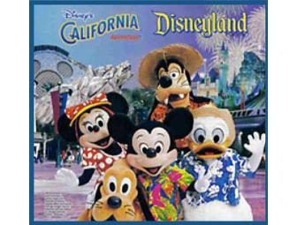 Disneyland Family (4) Adventure - 4 Nights w/Air