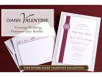 100 Diann Valentine/Wedding Paper Divas invitation Suites