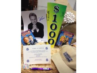 Try Your Luck: Wheel of Fortune - 4 VIP tickets, Autographed Photo of Pat & Vanna & More! - Photo 1
